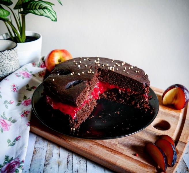 Torta senza zucchero vegana