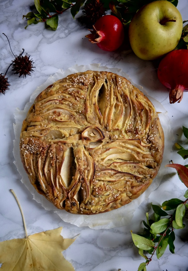 vegan apple cake