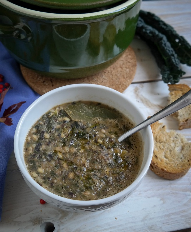 detox kale soup