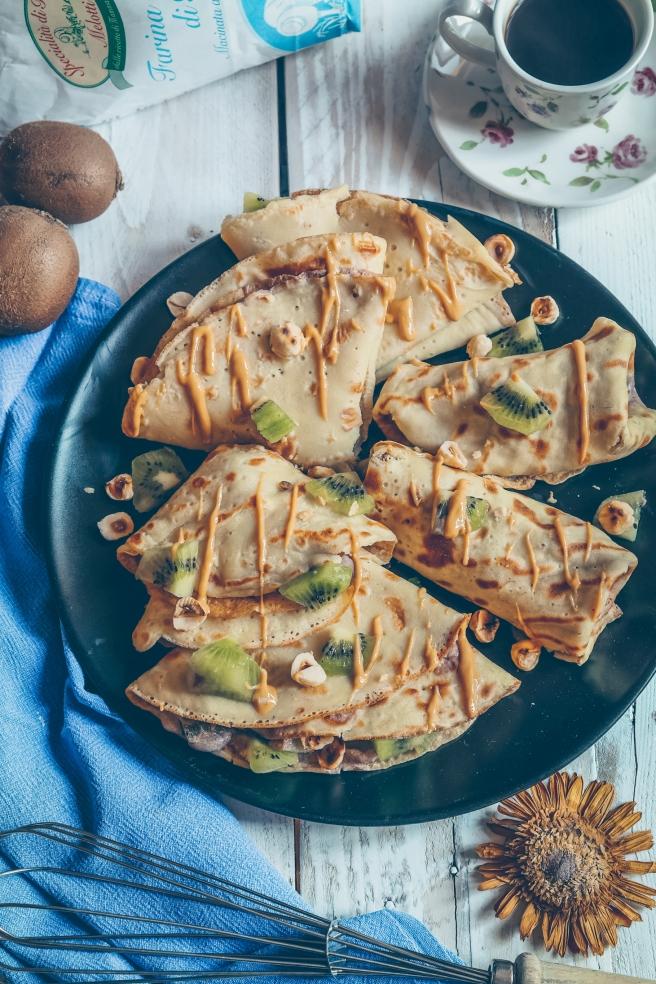 ricetta colazione crepes vegan