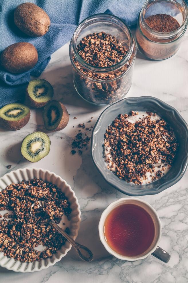 sugar free granola vegan