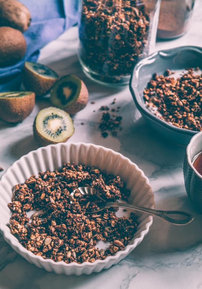granola tahin