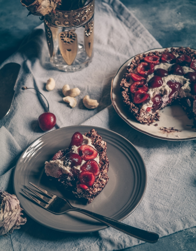 torta vegan senza cottura