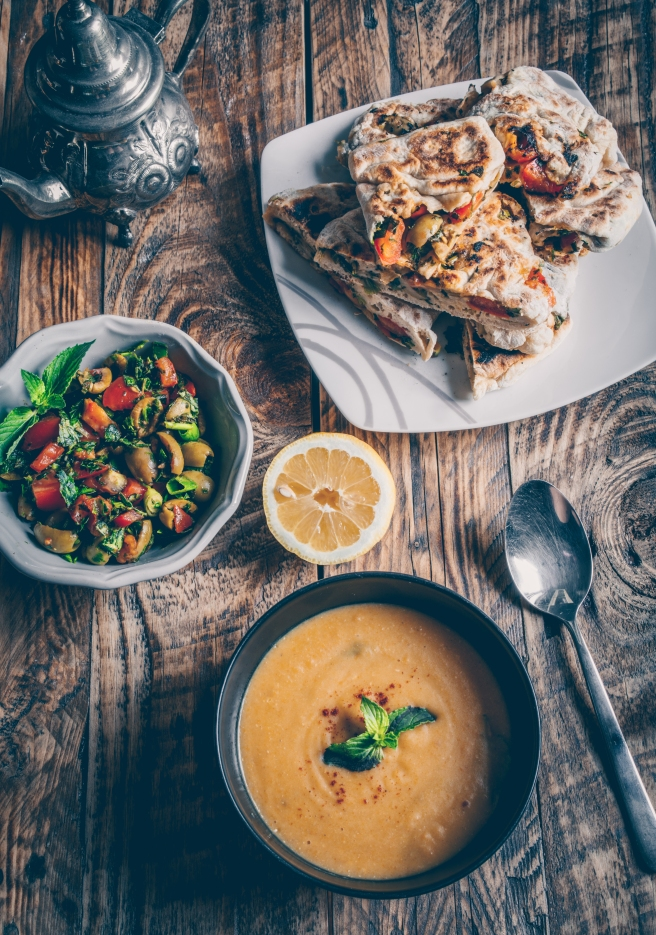 vegan arabic food