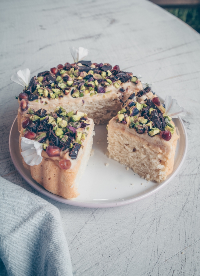 torta vegana base