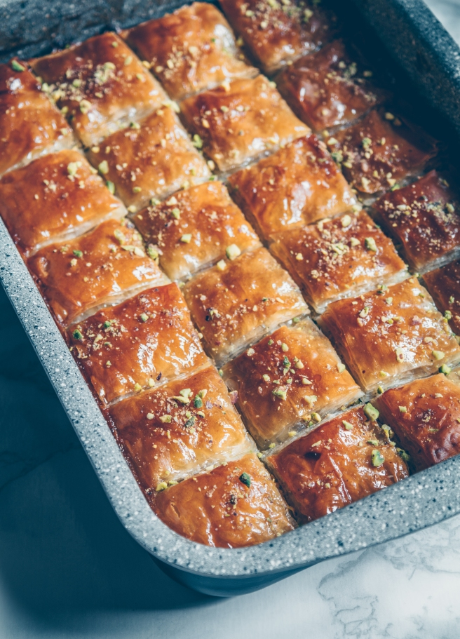 ultimate vegan and sugar free baklava