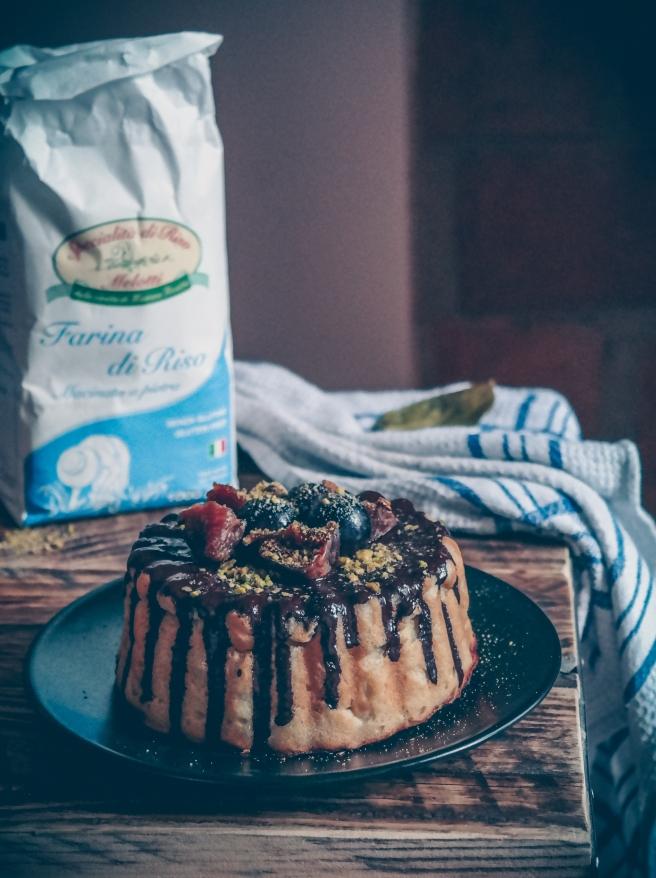 torta vegan farina di riso