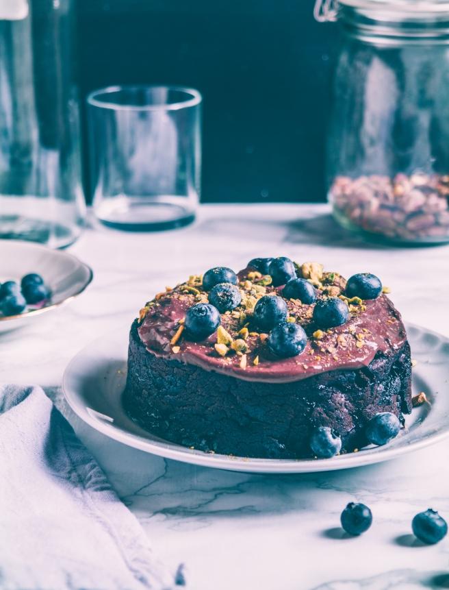 aquafaba vegan cake