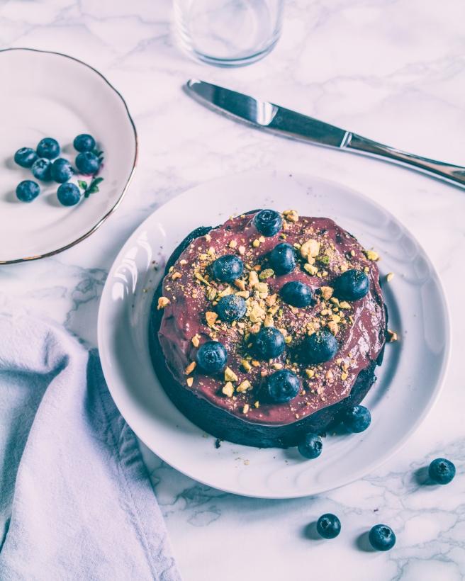 aquafaba cake