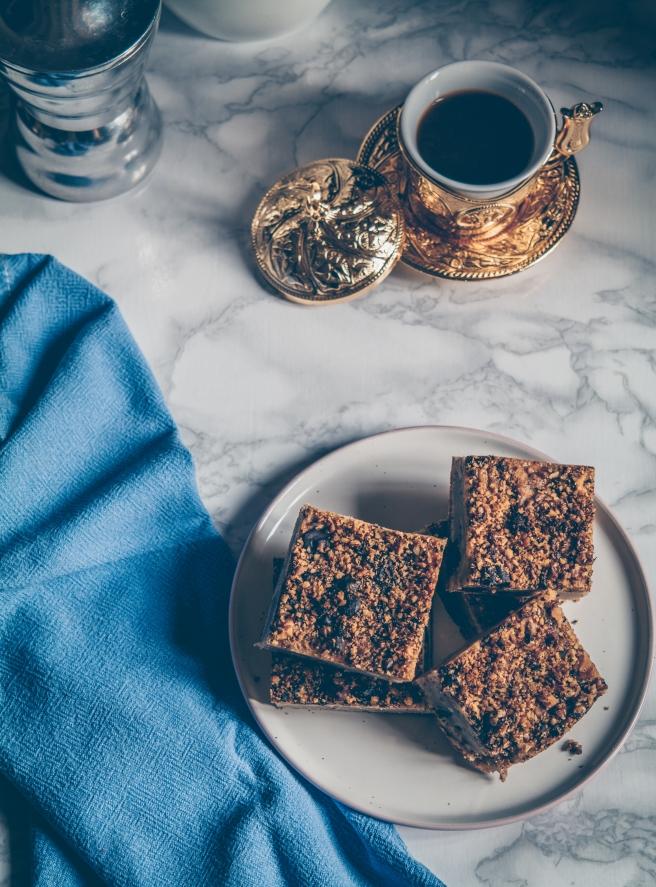 vegan brownies noci e cioccolato senza zucchero