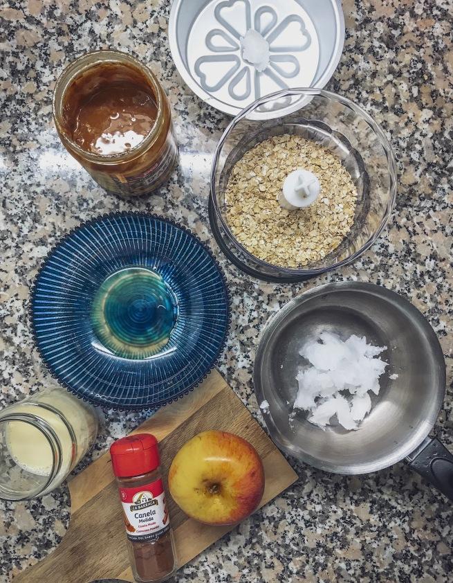 ingredienti torta di mele di avena