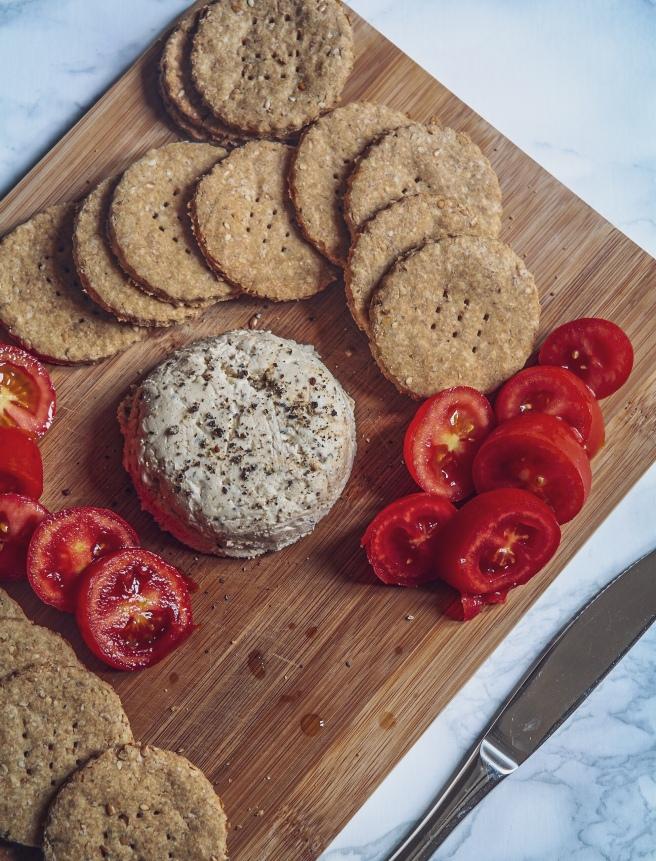 vegan cashew cheese spread