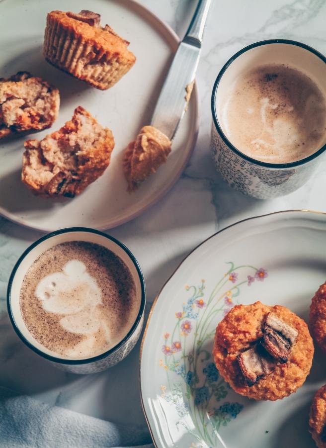 muffin di carote senza zucchero