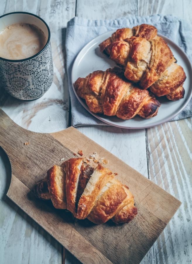 vegan French croissant